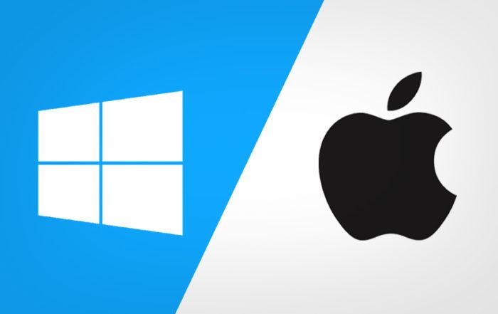 windows macOS